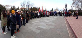 Памяти героев траурный митинг в Судаке