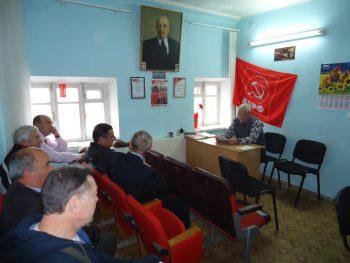 12.12.2016 состоялось заседание партбюро Судакского отделения КПРФ.<br />