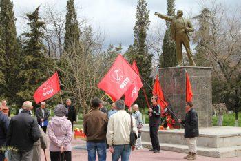 Глава администрации Судака обещал восстановить памятник Ленина к 22 апреля