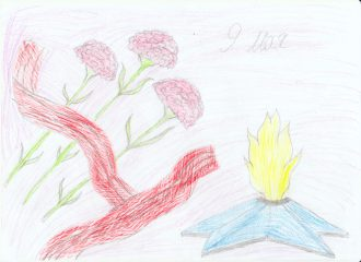 Конкурс Дети рисуют Победу