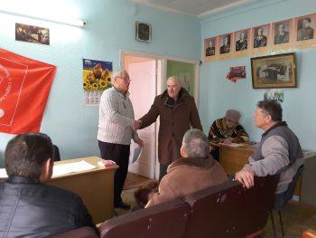 Прием в партию Алиева Ахмета Меметовича