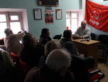 Заседание Бюро Судакского отделения КПРФ