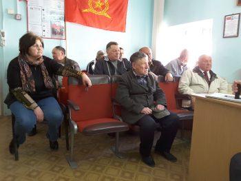 Лекция для политических занятий Судакского отделения КПРФ. Докладчик И.Е. Кириченко