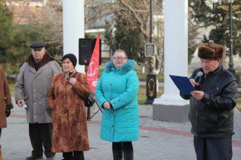 Судакские коммунисты почтили память Ильича