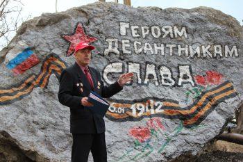 Анатолий Торохов открывает митинг